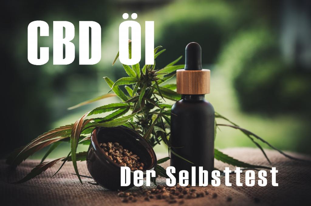 CBD Öl der Selbsttest